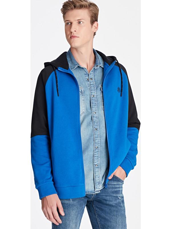 Mavi Erkek Fermuarlı Lacivert Sweatshirt 065769-900