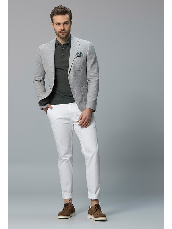 Lufian Erkek Slim Fit Cobh Spor Blazer Ceket