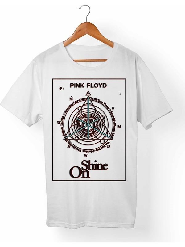 Muggkuppa Pink Floyd Çocuk Beyaz T-Shirt
