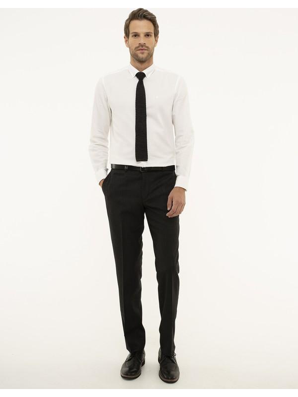 Pierre Cardin Füme Slim Fit Pantolon 50210656-VR058