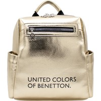 Benetton Kadın Sırt Çantası Altın-Siyah BNT88