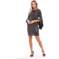 Sense Kadın 32292 Yakası Biyeli Payet Elbise