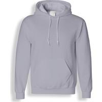 Acr Gri Kapüşonlu Cepli Sweatshirt