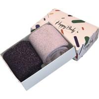 Happy Body 2'li Sim Iplik ile Üretilmiş Kadın Organik Pamuk Çorap