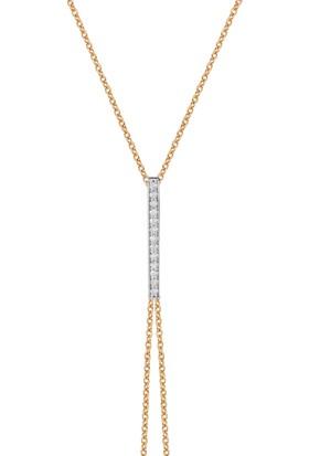 Goldstore 14 Ayar Altın Çubuk Şahmeran Bileklik GSH41715