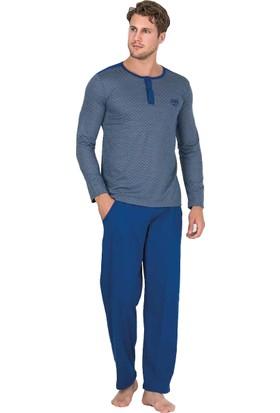 Berland 3755 Erkek Kışlık Pijama Takım