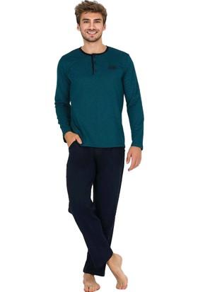 Berland 3760 Erkek Kışlık Pijama Takım