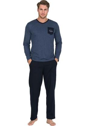 Berland 3758 Erkek Kışlık Pijama Takım