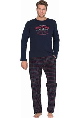 Berland 3765 Erkek Kışlık Pijama Takım