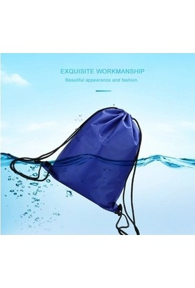 Ipli Su Geçirmez Spor Sırt Çantası-Mavi