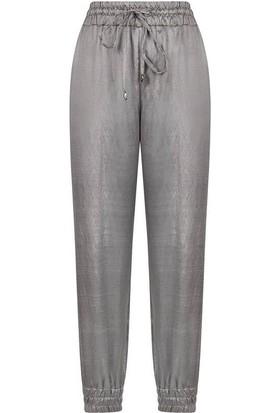 Nocturne 3120 Kadın Pantolon Gümüş