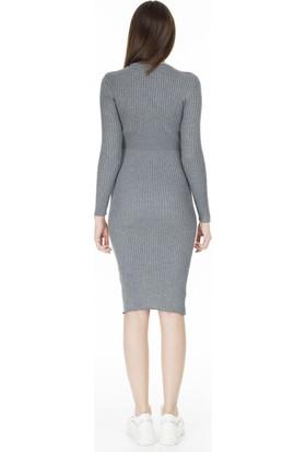 Fashion Friends Triko Elbise Kadın Elbise 9K0106