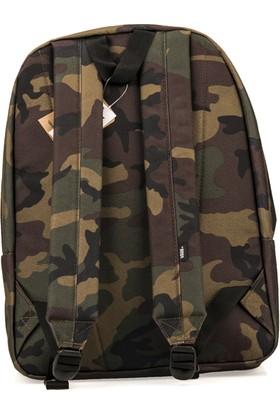 Vans Unisex Sırt Çantası 93443 Old Skool 3 Camouflage