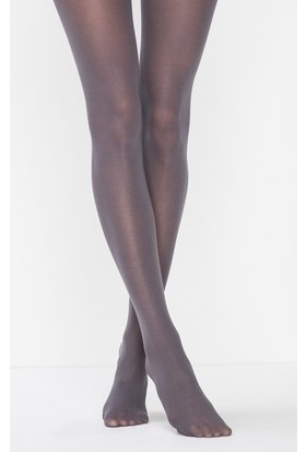 Müjde Lux 40 Denye Opak Gri 6'lı Külotlu Çorap