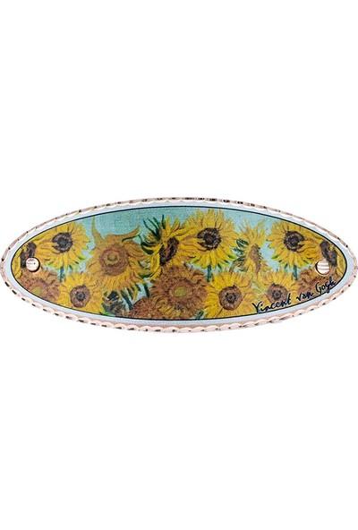 Lotis Van Gogh Ayçiçekleri Saç Tokası
