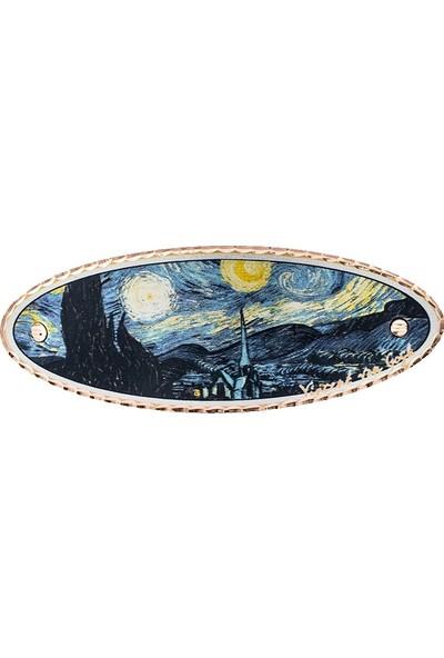 Lotis Van Gogh Yıldızlı Gece Saç Tokası