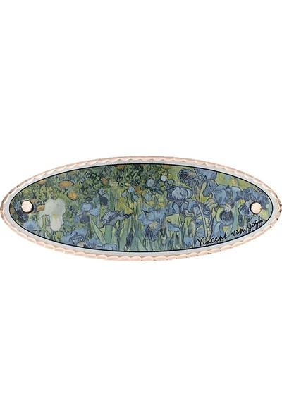 Lotis Van Gogh Tasarım Saç Tokası