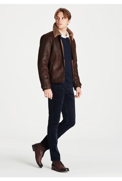 Mavi Erkek Marcus Lacivert Kadife Pantolon