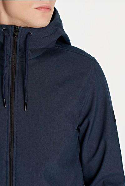 Kapüşonlu Mavi Mont 010195-29762