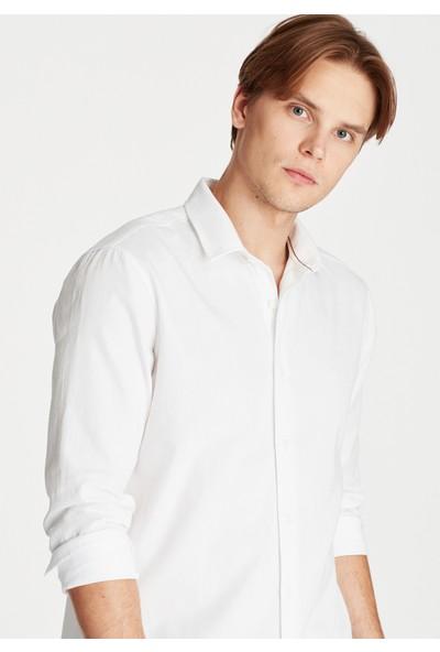 Mavi Erkek Beyaz Gömlek 021466-620
