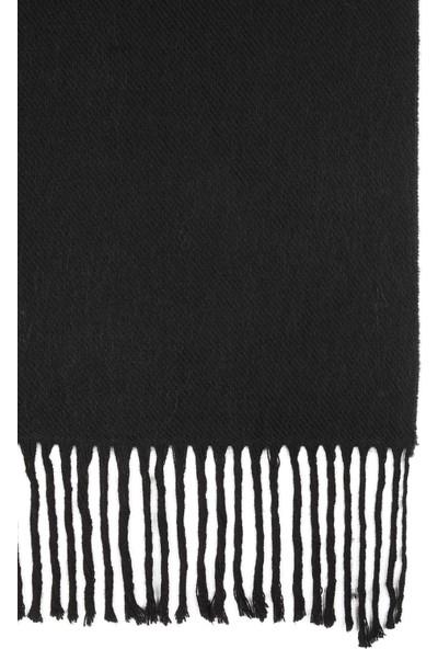 Mavi Erkek Püsküllü Siyah Atkı 091904-900