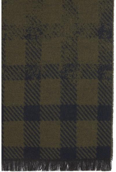 Mavi Erkek Kareli Haki Atkı 091906-29760