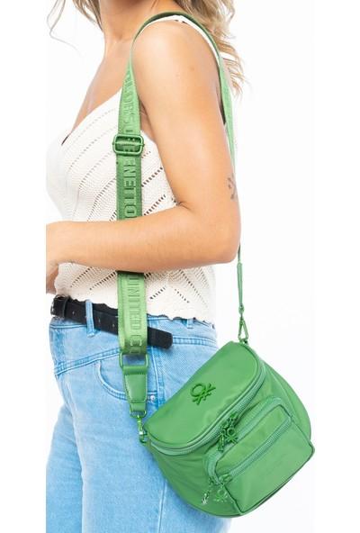 Benetton Kadın Çapraz Çanta Yeşil BNT154