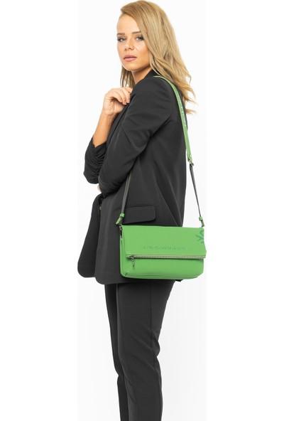 Benetton Kadın Çapraz Çanta Yeşil BNT71