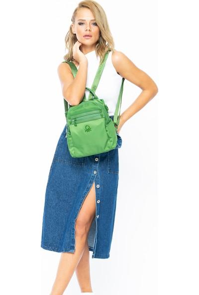 Benetton Kadın Sırt Çantası Yeşil BNT15