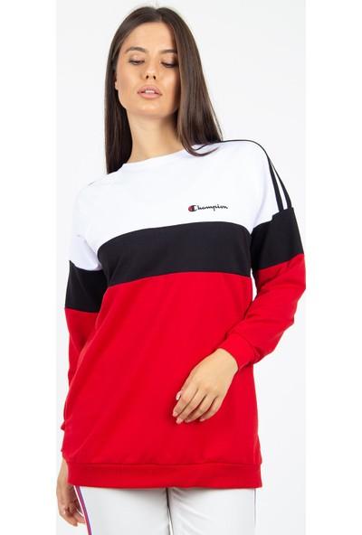 Morpile Kadın Çift Renk Baskılı Tunik