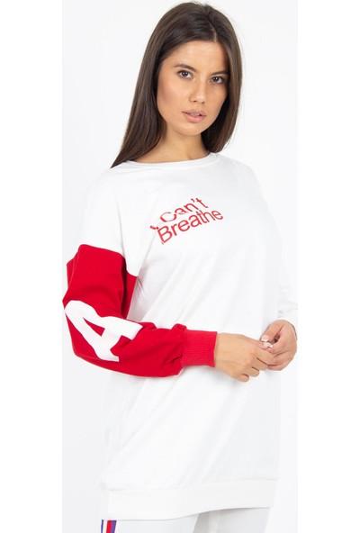Morpile Kadın Çift Renk Tunik