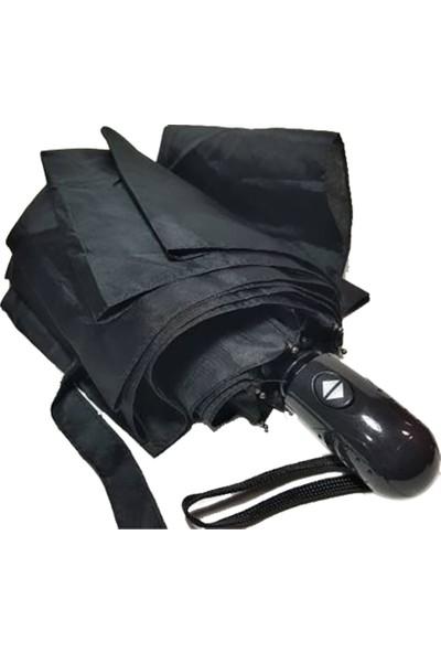 Almera, Tam Otomatik, 8 Telli, Siyah, Erkek Şemsiye