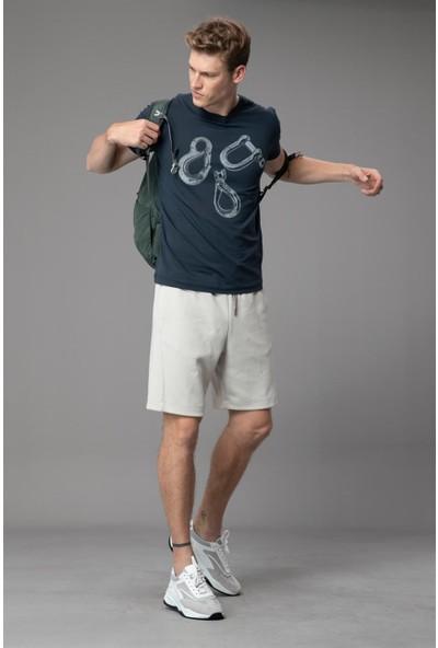 Lufian Erkek Cakir T- Shirt