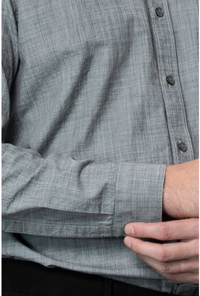 Lufian Erkek Comfort Slim Fit Onic Spor Gömlek