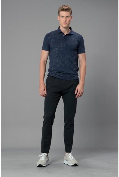 Lufian Erkek Emirli Vintage Polo T- Shirt