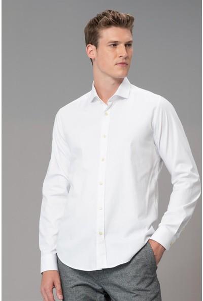 Lufian Erkek Slim Fit Bled Smart Gömlek