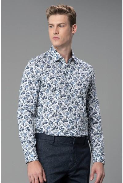 Lufian Erkek Slim Fit Cluny Smart Gömlek