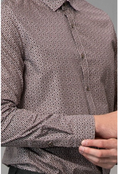 Lufian Erkek Slim Fit Falaise Smart Gömlek