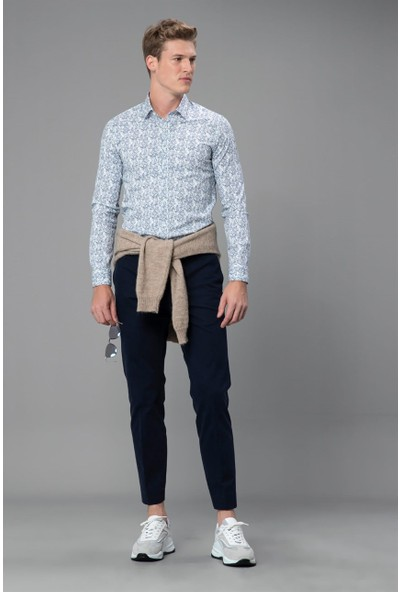 Lufian Erkek Slim Fit Mero Smart Gömlek