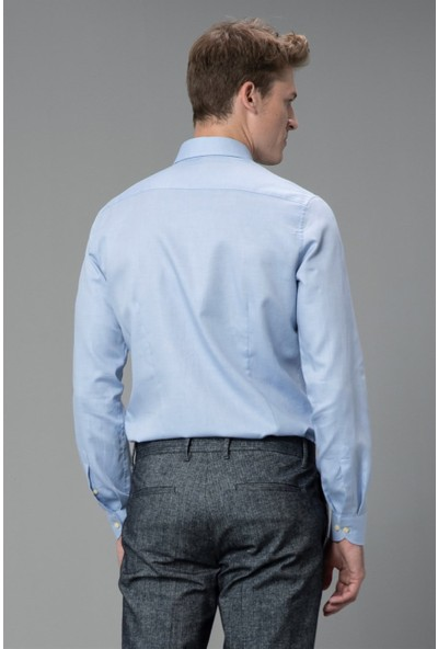 Lufian Erkek Slim Fit Reta Smart Gömlek