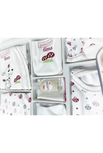 Luxeline 9'lu Lüxeline Hastane Çıkış Seti (Pembe)