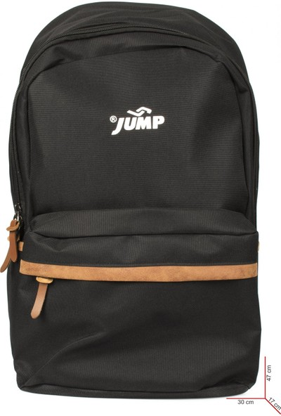 Jump 1065A Okul Siyah Unisex Çanta
