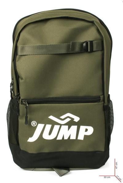 Jump 1068 9K Okul Sirt Haki Unisex Çanta