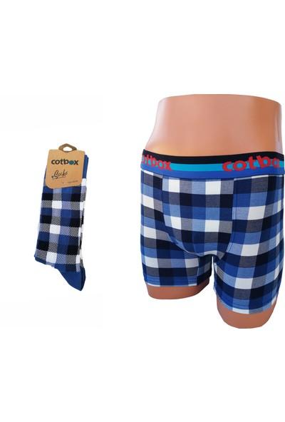 Solfej Boxer Çorap Takımı