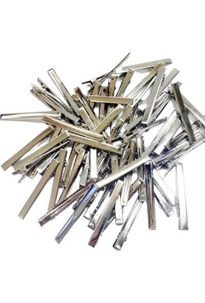 Metal Pens Toka - Timsah Toka - 7,5 cm - 50 Adet