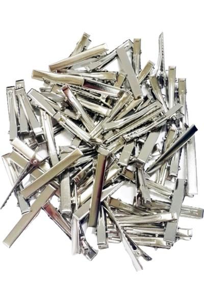 Metal Pens Toka - Timsah Toka - 5,5 cm - 50 Adet