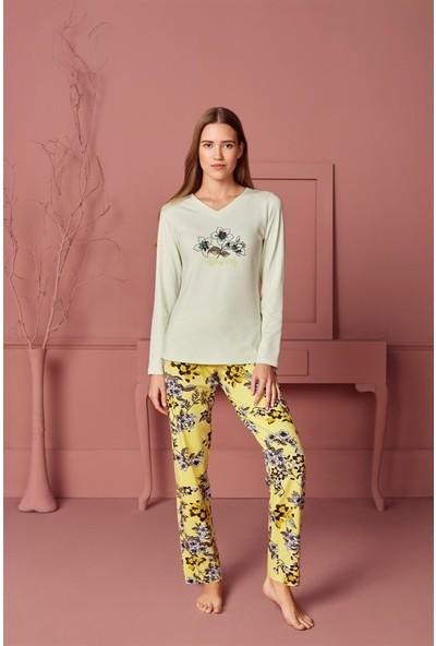 Doreanse Kadın T-Shirt Pijama Takımı 4230