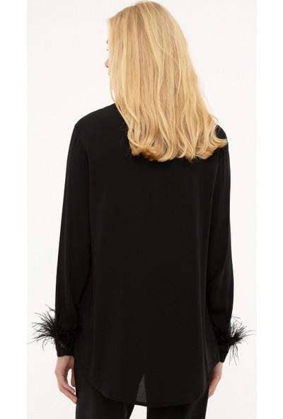 Pierre Cardin Kadın Dokuma Gömlek 50216672-Vr046