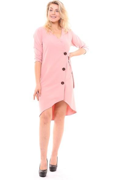 Sense Kadın 32089 Düğmeli Elbise