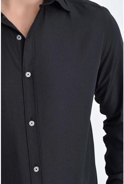 Hatemoğlu Erkek Desenli Klasik Gömlek